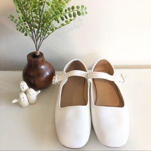 Leather Mary Jane Flats by UO